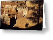 Bryce Canyon National Park Hoodo Monolith Sunrise From Sunrise P Greeting Card