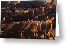Bryce Canyon National Park Hoodo Monoliths Sunrise Southern Utah Greeting Card