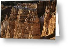 Bryce Canyon National Park Hoodo Monoliths Sunset From Sunrise P Greeting Card