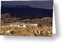 Bryce Canyon National Park Hoodo Monoliths Sunset Southern Utah  Greeting Card