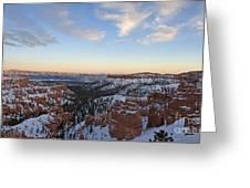 Bryce Canyon National Park Utah Greeting Card