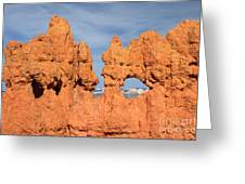 Bryce Canyon Peephole Greeting Card