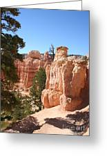Bryce Canyon  Red Rocks Greeting Card