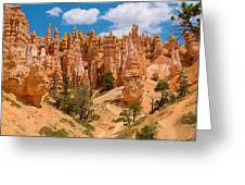 Bryce Canyon Spirals 2 Greeting Card