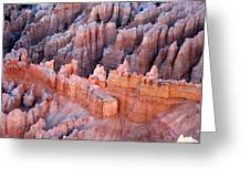 Bryce Canyon Sun Rising Greeting Card