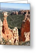 Bryce Canyon - Thors Hammer Greeting Card