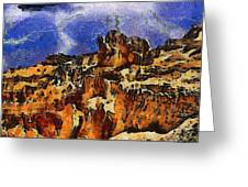 Bryce Canyon Thuderstorm Greeting Card