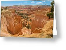 Bryce Canyon Valley Walls Greeting Card