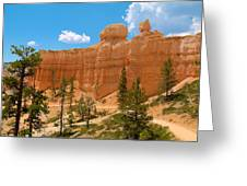Bryce Canyon Walls Greeting Card