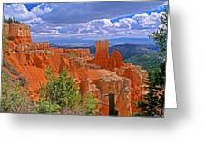 Bryce Canyon's Agua Canyon Greeting Card