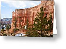 Bryce Curved Formation Wall Greeting Card