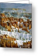 Bryce Winter Morning Greeting Card