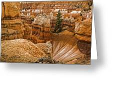 Bryce Zion Landscape Greeting Card