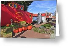 Bryson City North Carolina In The Fall Greeting Card
