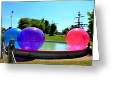 Bubble Ball 1  Greeting Card