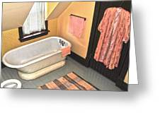 Bubble Bath  Greeting Card