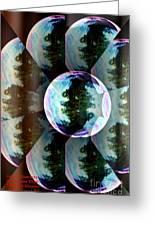 Bubble Illusion Catus 1 No 1 V Greeting Card