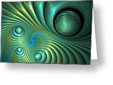 Bubble Spiral Greeting Card