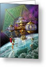 Bubble Telescope Greeting Card