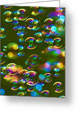 Bubbles Bubbles And More Bubbles Greeting Card