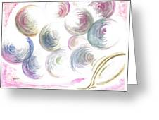 Bubbles Bubbles Greeting Card