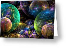 Bubbles Upon Bubbles Greeting Card