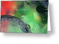 Bubbling Color Greeting Card