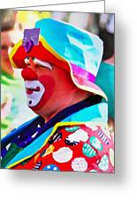 Bubby The Clown Greeting Card