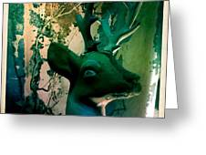 Buck A Deer Greeting Card