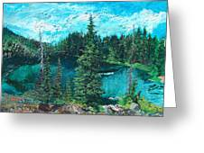 Buck Lake Greeting Card
