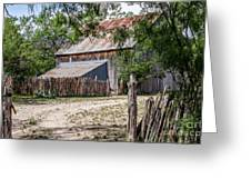 Buck Ranch Barn Greeting Card
