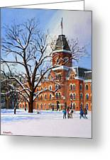 Buckeye Winter Greeting Card
