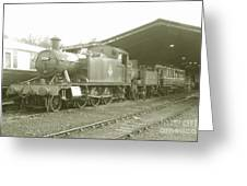 Buckfastleigh Shed Greeting Card