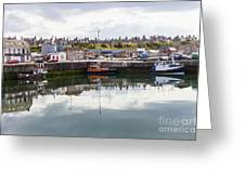 Buckie Harbour Greeting Card