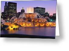 Buckingham Fountain, Chicago, Illinois Greeting Card