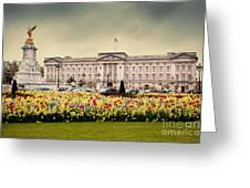 Buckingham Palace In London Uk Greeting Card