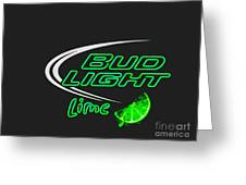 Bud Light Lime 2 Greeting Card