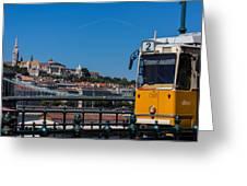 Buda Castle Budapest Greeting Card