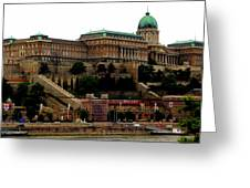 Buda Castle In Budapest Greeting Card