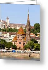 Buda Reformed Church In Budapest Greeting Card