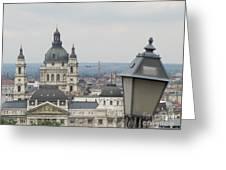 Budapest Around Greeting Card