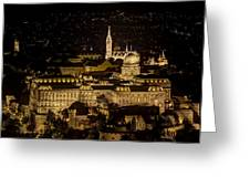 Budapest Castle Greeting Card
