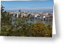Budapest City Greeting Card