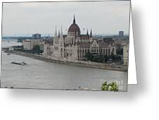 Budapest View Greeting Card