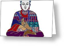Buddha In Meditation Buddhism Master Teacher Spiritual Guru By Navinjoshi At Fineartamerica.com Greeting Card