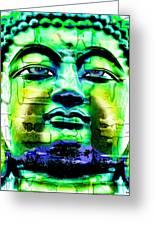 Buddha Greeting Card by Daniel Janda