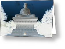 Buddha In Enlightenment II Greeting Card