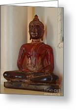 Buddha In Savannah Greeting Card