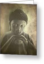 Buddha Greeting Card by Madeleine Forsberg
