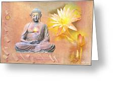 Buddha Of Compassion Greeting Card